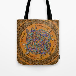 Kindness and Humanity Celtic Knotwork Tote Bag