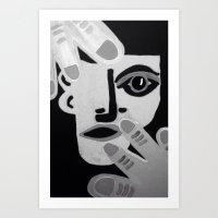 Showtime Art Print