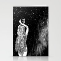 apollonia Stationery Cards featuring asc 604 - L'invocation à Vénus (Venus under the sky) by From Apollonia with Love