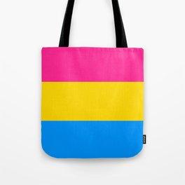 Pansexual Flag Tote Bag