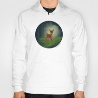 bambi Hoodies featuring Bambi by Ashleigh Jane