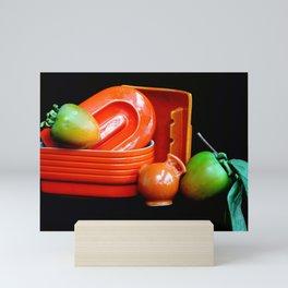 Curvy-linear Mini Art Print