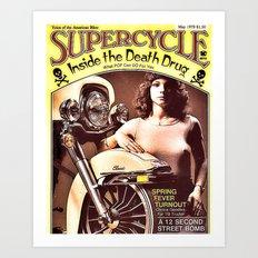 Death Drug Art Print