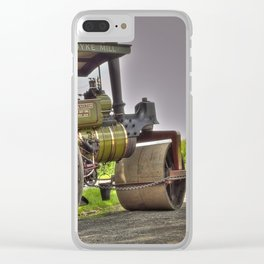 Lady Hamilton Road Roller Clear iPhone Case