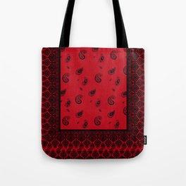 Bandana Red Tote Bag