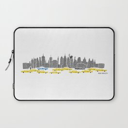 New York City Panoramic Laptop Sleeve