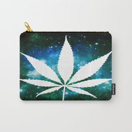 Weed : High Times Green Blue Galaxy Carry-All Pouch