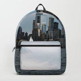 Skyline  of New York City Backpack