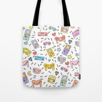 gaming Tote Bags featuring Gaming by Irene Florentina