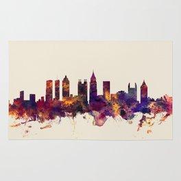 Atlanta Georgia Skyline Rug