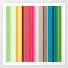 Rainbow Colors! Art Print