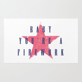Baby You're a Firework Rug