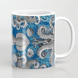 The Kraken (Blue - No Text, Alt.) Coffee Mug