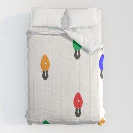 Christmas Lights Comforters