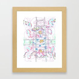 Intro 3 (The Collaboration) Framed Art Print