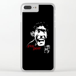 Evil Dead Clear iPhone Case