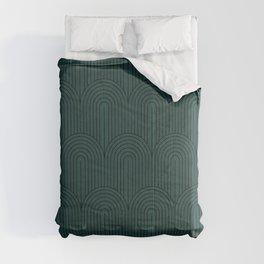 Art Deco Arch Pattern XVI Comforters