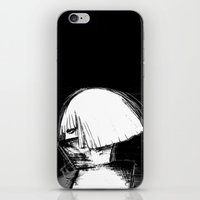 monster inc iPhone & iPod Skins featuring Mother Monster by Manta Inc