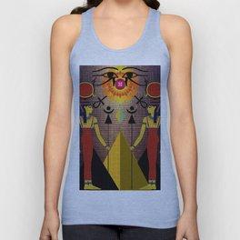 Hathor under the eyes of Ra -Egyptian Gods and Goddesses Unisex Tank Top
