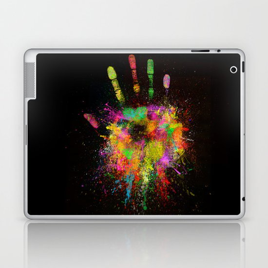 Artist Hand (1) Laptop & iPad Skin