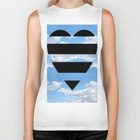 moschino Biker Tanks featuring Moschino Heart by cvrcak