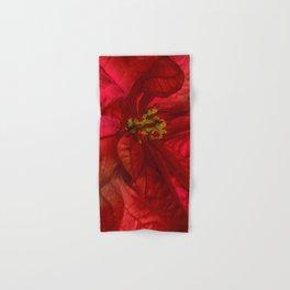 Christmas Flower Hand & Bath Towel