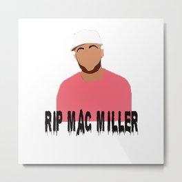 mac miller x rip Metal Print