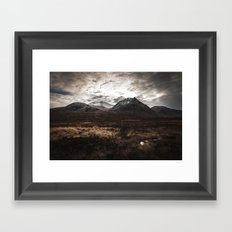 Drive From Loch Ness Framed Art Print