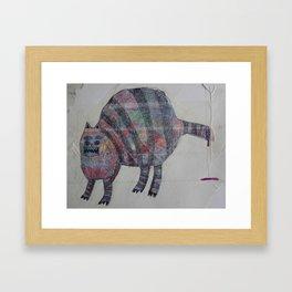 Lost Cat Call ____ Framed Art Print
