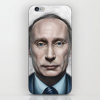 putin iPhone & iPod Skins featuring Vladimir Putin by Pavel Sokov