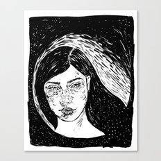 La noche Canvas Print