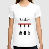 kitchen T-shirts featuring Kitchen by Sahar
