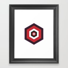 #293 The earth is a cube – Geometry Daily Framed Art Print
