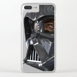 Darth Vader Playboy Flagrant Clear iPhone Case