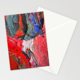 Up Close & Personal with Portrait of a Shoe #2 by Joan Brown Stationery Cards