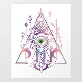 The Eye of Providence Art Print