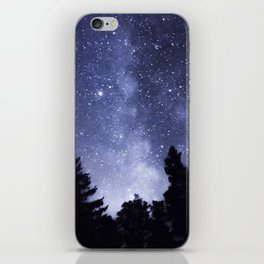 Stars and Pine iPhone Skin