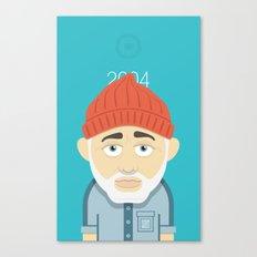 Aquatic Bill Canvas Print