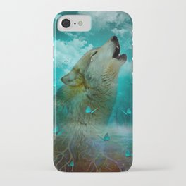 I'll See You In My Dreams (Cry of the Wolf) iPhone Case