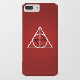 Deathly Hallows - Potter Scar iPhone Case