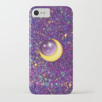emoji iPhone & iPod Cases featuring Emoji Moon by jajoão