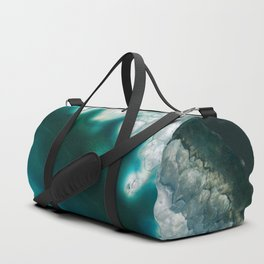 The abyss gazes back agate Duffle Bag