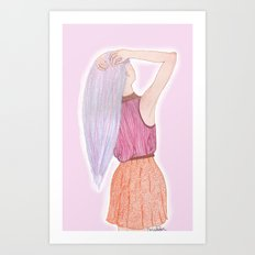 Dreamboat Annie Art Print