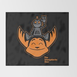 Ratchet & Clank Throw Blanket
