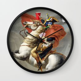 Napoleon Born2party Wall Clock