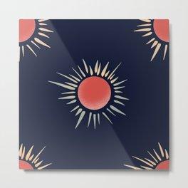 Midnight Sun Metal Print
