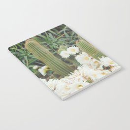 Cactus and Flowers Notebook