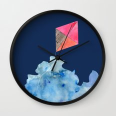 Kite Up Wall Clock