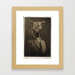 Family Resemblance Framed Art Print
