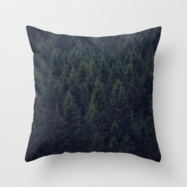 Deep In The Woods Throw Pillow